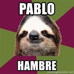 Just-Lazy-Sloth - Pablo Hambre
