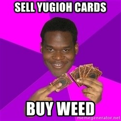 Cunning Black Strategist - Sell yugioh cards buy weed