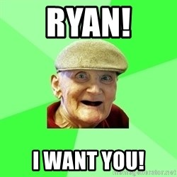 Mug Punter - Ryan! I want you!