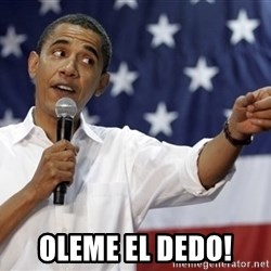 Obama You Mad - oleme el dedo!
