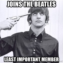 Sad Life Of Ringo Starr - joins the beatles least important member