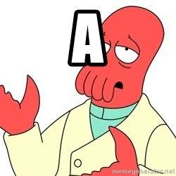 Why not zoidberg? - a