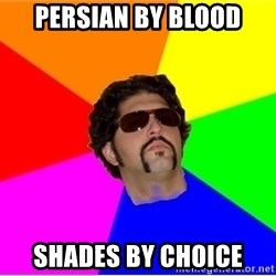 One Upper Bob - persian by blood shades by choice