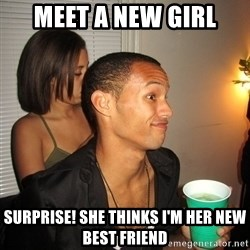 Gay Boy Don't Care - MEET A NEW GIRL SURPRISE! SHE THINKS I'M HER NEW BEST FRIEND