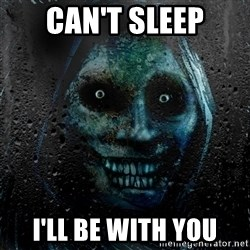 NEVER ALONE  - can't sleep i'll be with you