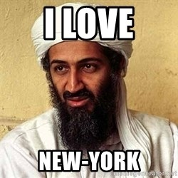 Osama Bin Laden - I LOVE NEW-YORK