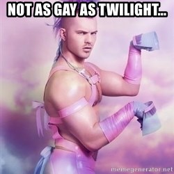 Unicorn Boy - NOT AS GAY AS TWILIGHT...
