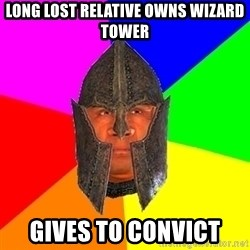 Oblivion - Long lost Relative owns WIZARD tower Gives to COnvict