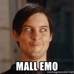 Peter Parker Spider Man - MALL EMO