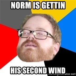 Will Smith Cum Face - Norm is gettin His Second Wind