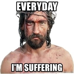 Masturbation Jesus - everyday i'm suffering