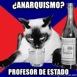 Alco-cat - ¿Anarquismo? Profesor de Estado