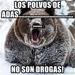 Clean Cocaine Bear - los polvos de adas........................................... no son drogas!