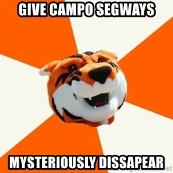 Idea Ritchie - GIVE CAMPO SEGWAYS mysteriously dissapear