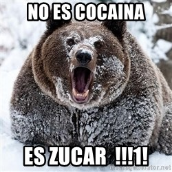 Clean Cocaine Bear - no es cocaina es zucar  !!!1!