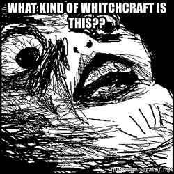 Surprised Chin - what kind of whitchcraft is this??