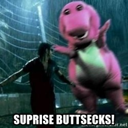 barneytalek - SUPRISE BUTTSECKS!