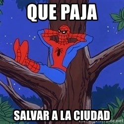 Spiderman Tree - que paja salvar a la ciudad