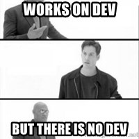 Terras Matrix - works on dev but There is no dev