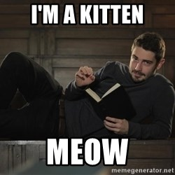 Sexy Nathan - I'm a kitten meow