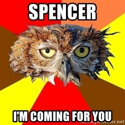 Musician Owl - spencer i'm coming for you