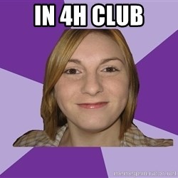 Generic Fugly Homely Girl - in 4h club