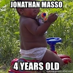 Swagger Baby - Jonathan Masso 4 years old