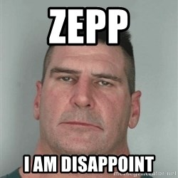 Son Am Disappoint - Zepp I AM DISAPPOINT