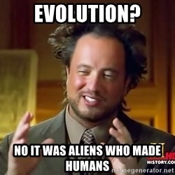 Giorgio A Tsoukalos Hair - EVOLUTION? NO IT WAS ALIENS WHO MADE HUMANS
