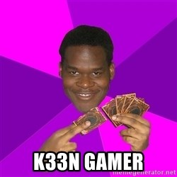 Cunning Black Strategist - k33n gamer