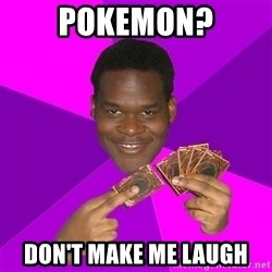 Cunning Black Strategist - pokemon? don't make me laugh