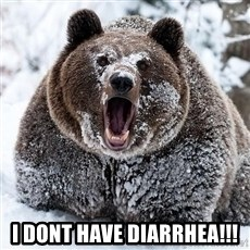 Cocaine Bear - I dont have diarrhea!!!