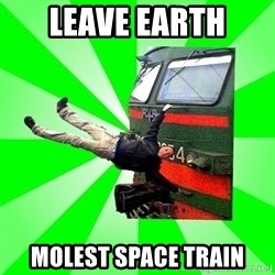 Active_Elektrichker - leave earth molest space train