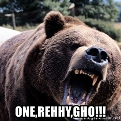 Bear week -  ONE,REHHY,GHO!!!