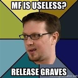 Nerf Morello - MF is useless? Release Graves