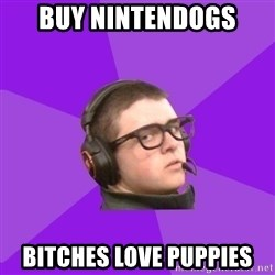 Virgin Gamer - Buy nintendogs bitches love puppies