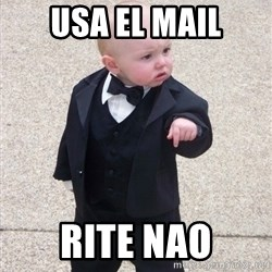 Godfather Baby - usa el mail rite nao