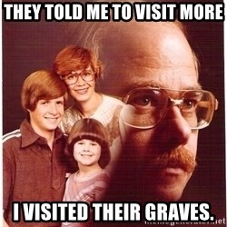Family Man - they told me to visit more i visited their graves.