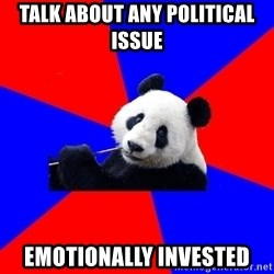 Polisci Panda - Talk About Any Political Issue emotionally invested