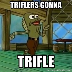 Haters Gonna Hate - triflers gonna trifle
