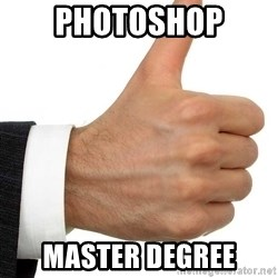 Thumbs Up Smutty Fanfiction - Photoshop Master degree