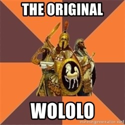 Age of Empires '97 - the original wololo