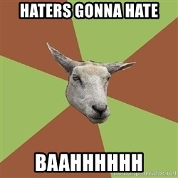 The Gamer Sheep - HATERS GONNA HATE BAAHHHHHH