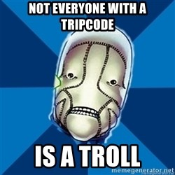 Hopeful St Walker - not everyone with a tripcode is a troll
