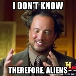 Giorgio A Tsoukalos Hair - I don't know therefore, aliens