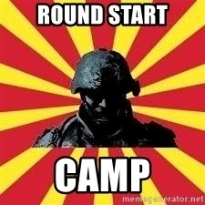 Battlefield Soldier - round start camp