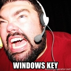Angry Gamer - windows key