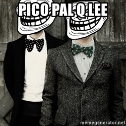Panic! At The Trolling - PICO PAL Q LEE