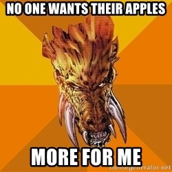 Greedy Larfleeze - No one wants their Apples more for me