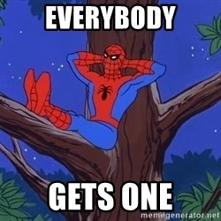 Spiderman Tree - Everybody gets one